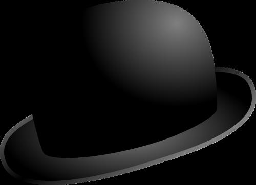 hat black english