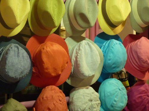 hat colorful color