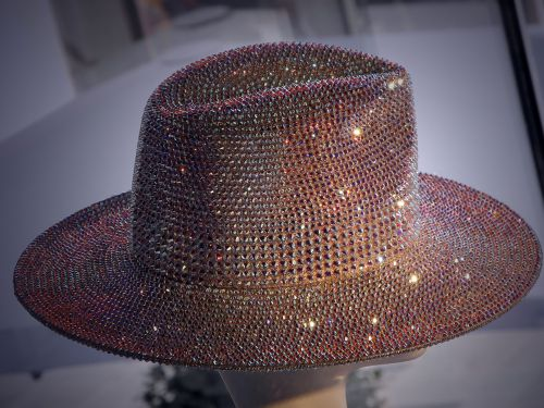 hat crystals sparkle