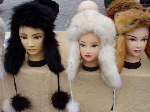 hats fur hats headwear