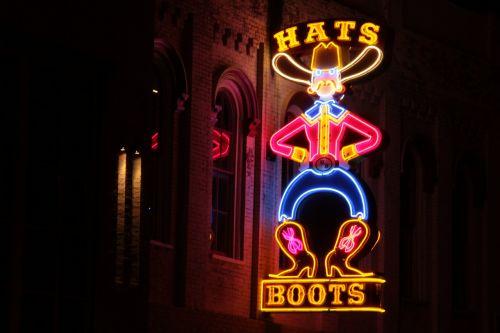 hats boots nashville