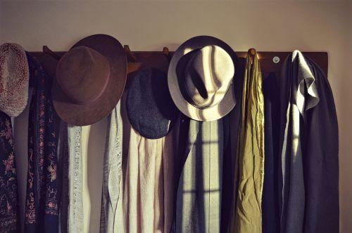hats scarves visitors