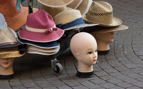 hats lid style