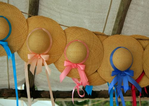 hats ribbons bonnets