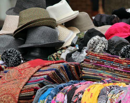 hats scarves shawls