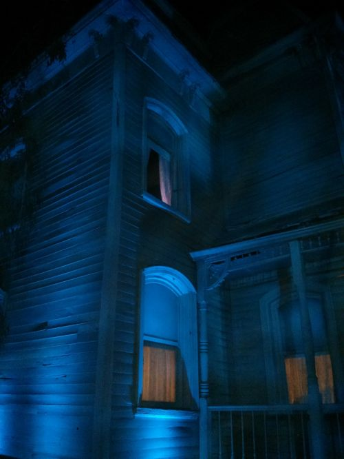 haunted house scary
