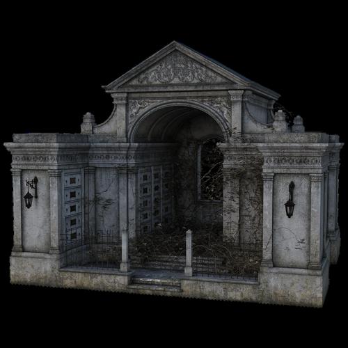 haunted  building  ivy