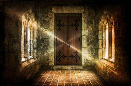 haunted castle castle closed transition