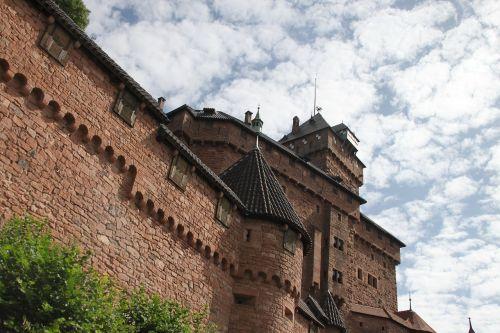 haut-koenigsbourg castle alsace