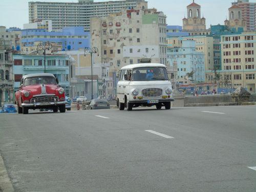 havana cuba truck old