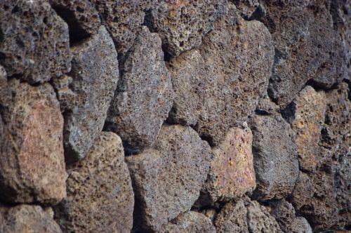 hawaii rocks rock wall