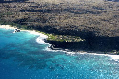 hawaii aerial photograph bird's eye