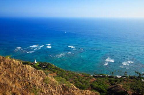 hawaii ocean light house