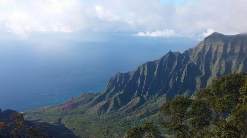 hawaii kauai na pali coast