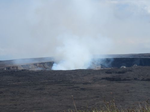 hawaii volcano crater