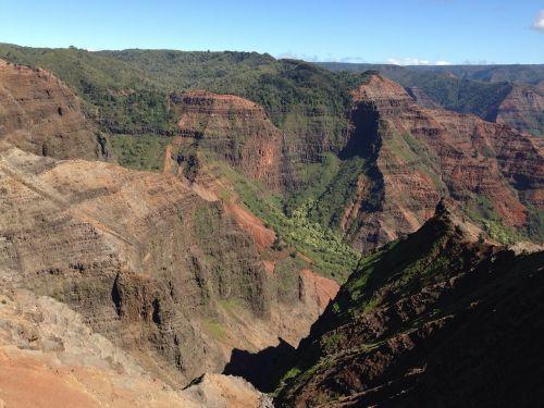 hawaii kauai gorge