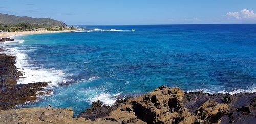 hawaii  sea  oahu