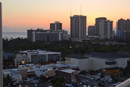hawaii sunset city