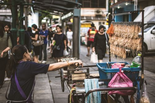 hawker squid grill street food