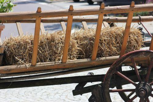 hay wagon farm