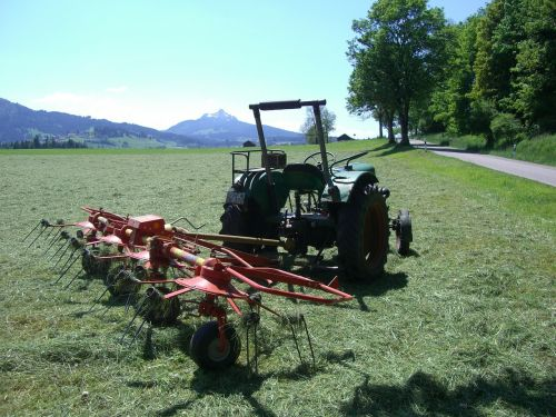 hay tedders tractor agriculture