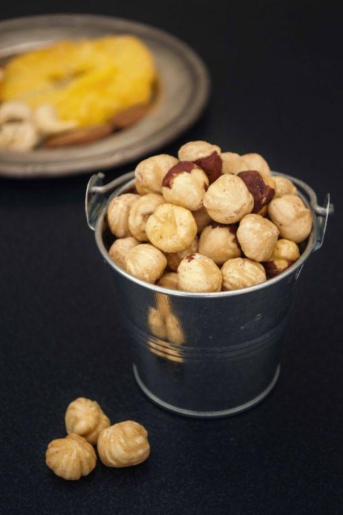 hazelnuts food photography mystic light