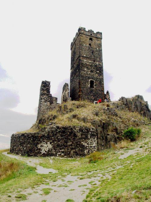 hazenburk castle the fortifications