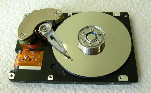 hdd data storage disk