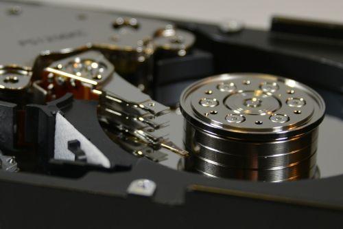 hdd hard drive macro