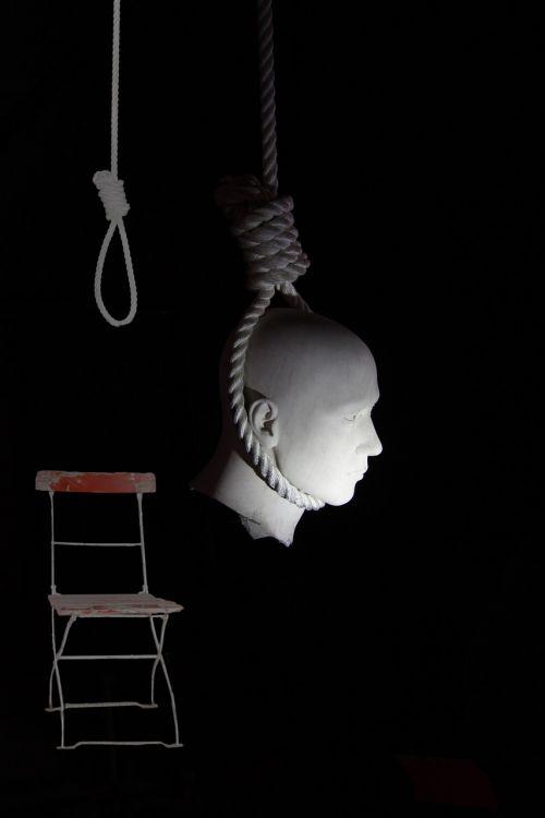 head folding chair rope