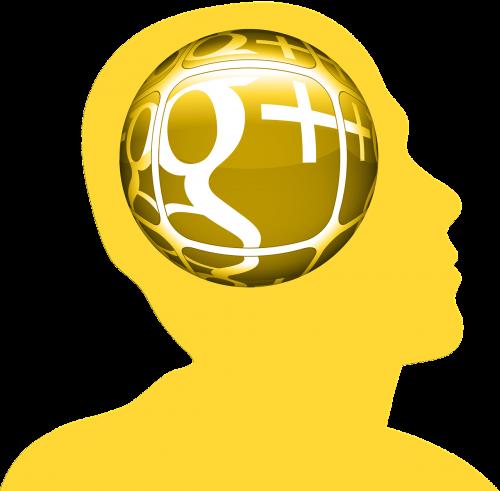 head circle google