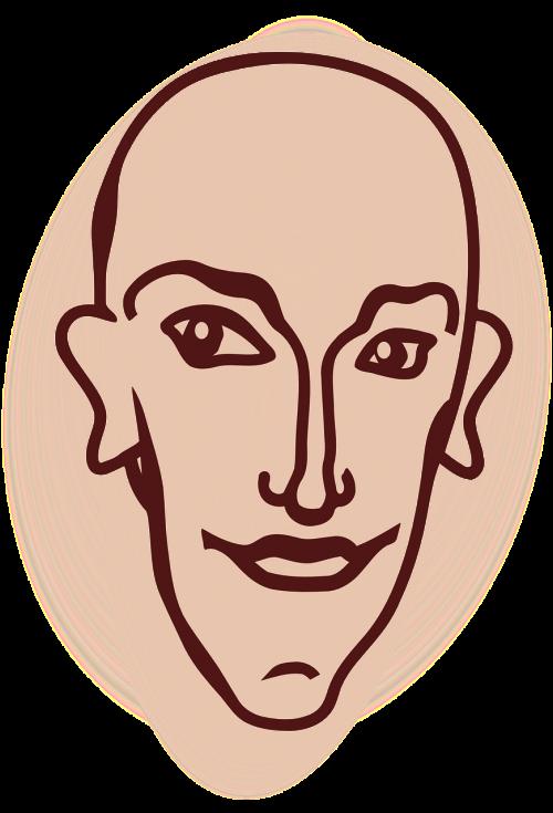 head human face