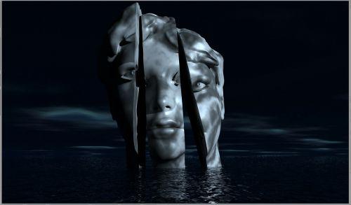 head 3d face