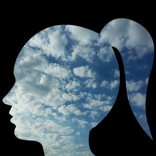 head woman person