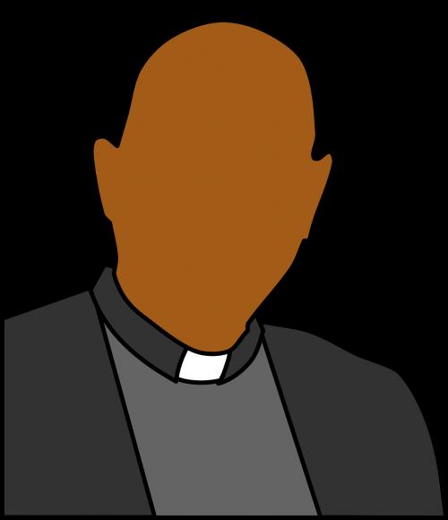 galva,kunigas,pečiai,avatar,pasitikėjimas,juodi plaukai,tikėjimas,nemokama vektorinė grafika