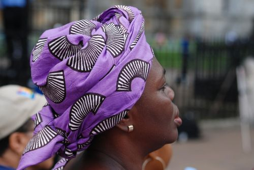head scarf patterned