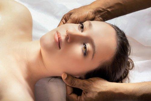head massage  ayurveda  relaxation