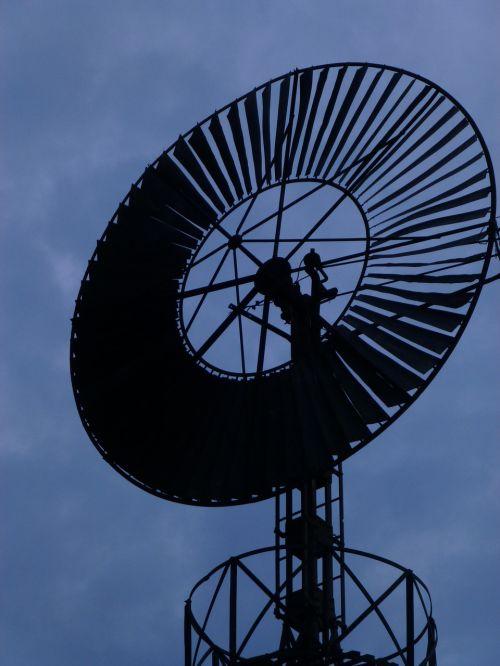 head mill wind night