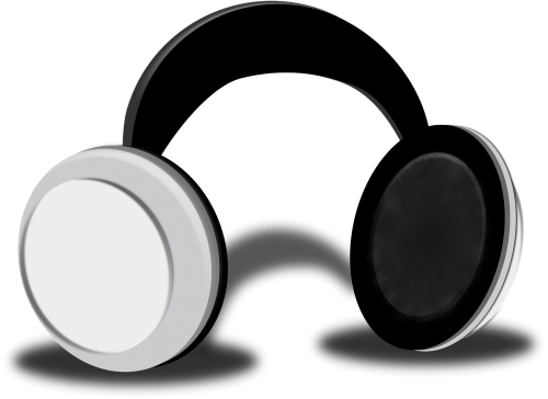head phones music listening