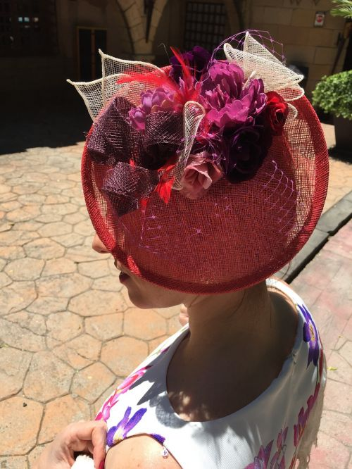 headdress female beauty