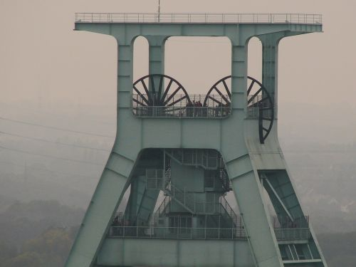 headframe industry ruhr area