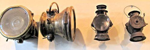 headlights antique automobile lights museum