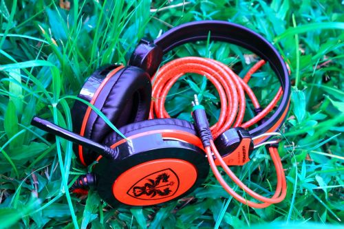 headphone headset music