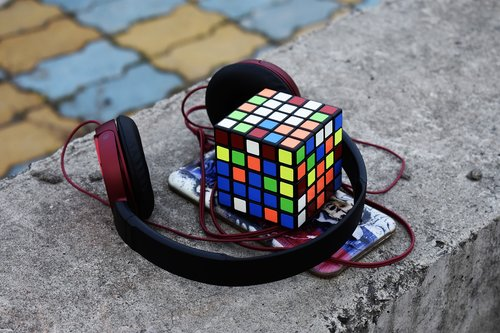 headphone  cube  music