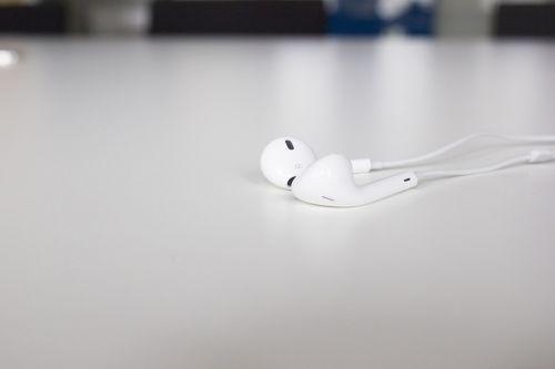 headphones in-ear headphones music