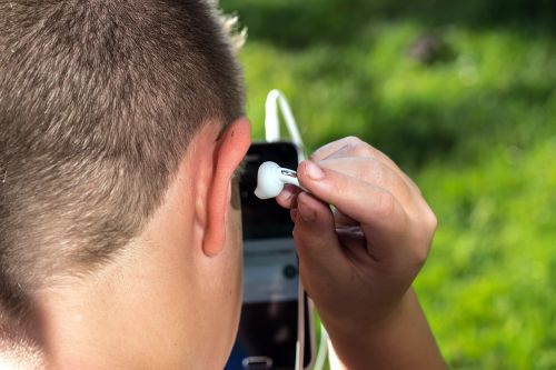 headphones ear plug head