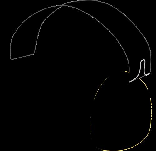 headphones head speakers head phones