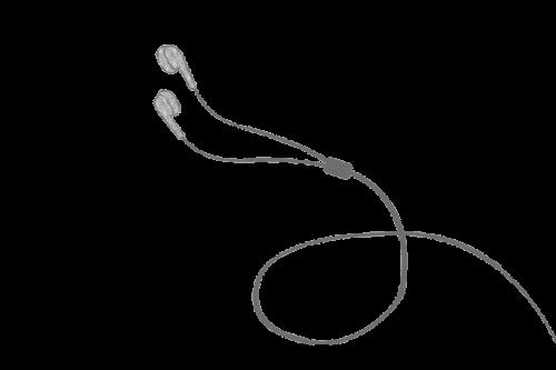 headphones drawing headphones earphone