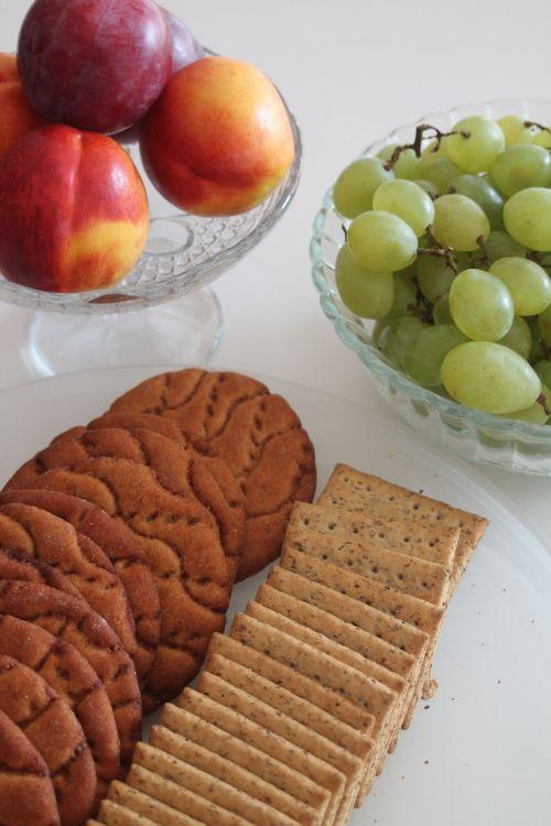 healthy biscuit fruit