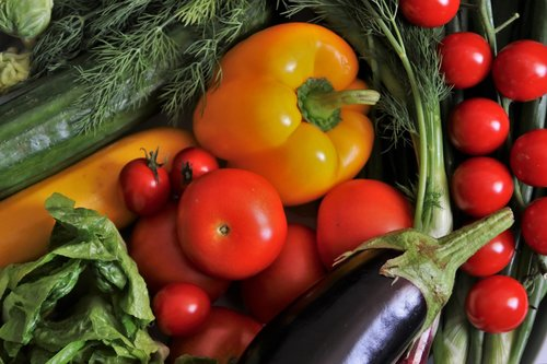 healthy  vegetables  colorful